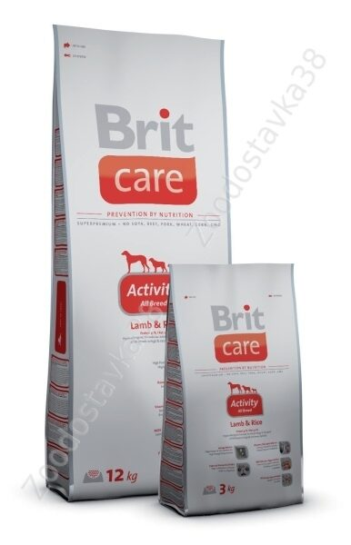 Brit care adalt all breed activity 12кг