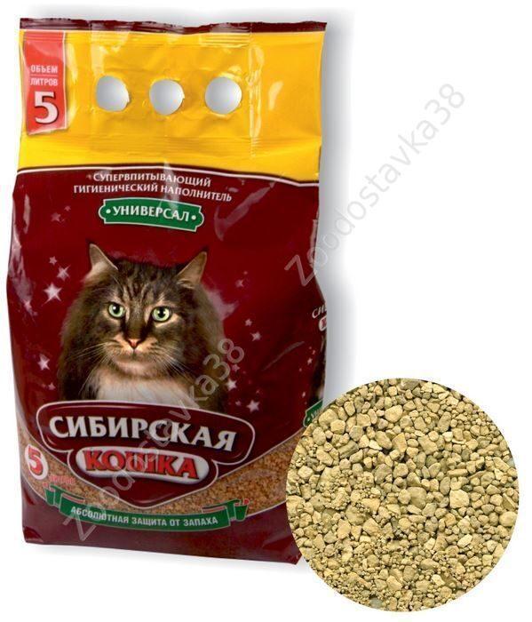 Сибирская кошка универсал 5 л